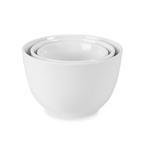 Fitz and Floyd® Everyday White® Bowls - Set of 3