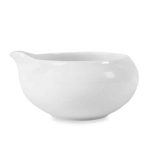 Fitz and Floyd® Everyday White® Small Single-Serve Gravy/Sauce Boat