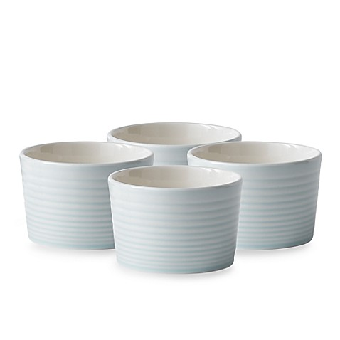Gordon Ramsay® Maze Blue Ramek in Set by Royal Doulton