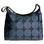OiOi® Hobo Diaper Bag in Charcoal Dot
