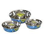 Durapet® Slow Feed Stainless Steel Dog Bowl