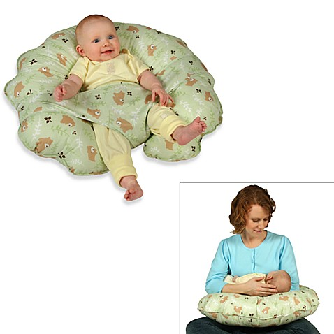 Leachco® Cuddle-U Original Nursing Pillow and Support System in Green Euro Bear