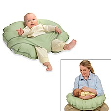 Leachco® Cuddle-U Original Nursing Pillow and Support System in Green Dot