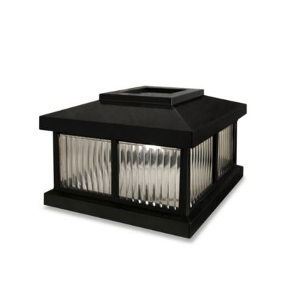 Buy Black Solar Outdoor Lights from Bed Bath & Beyond
