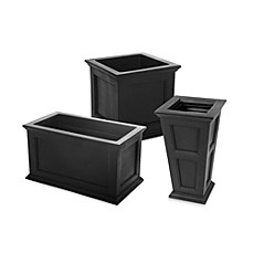 Mayne Fairfield Patio Planters - Black