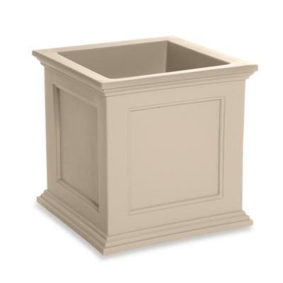 Mayne Fairfield 20-Inch x 20-Inch Patio Planter in Clay
