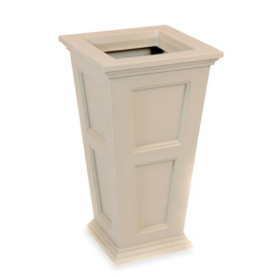 Mayne Fairfield Tall Patio Planter in Clay