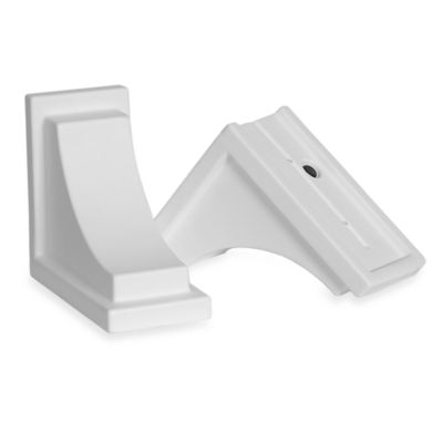 Mayne Nantucket Decorative Brackets in White (Set of 2)