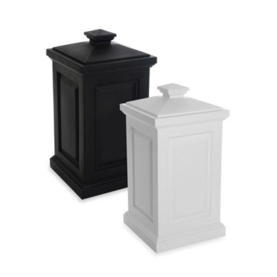 Mayne Berkshire 45-Gallon Storage Bin in Black