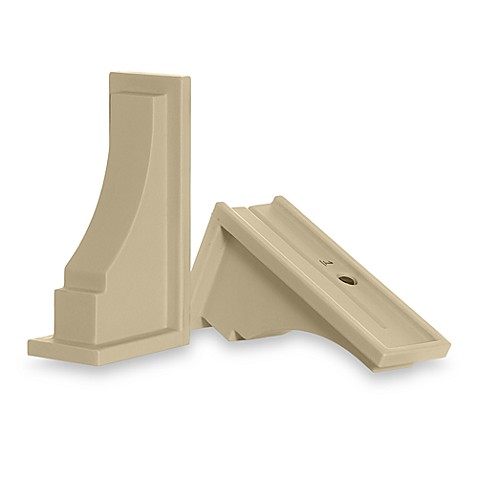 Mayne Fairfield Window Box Decorative Supports in Clay (Set of 2)