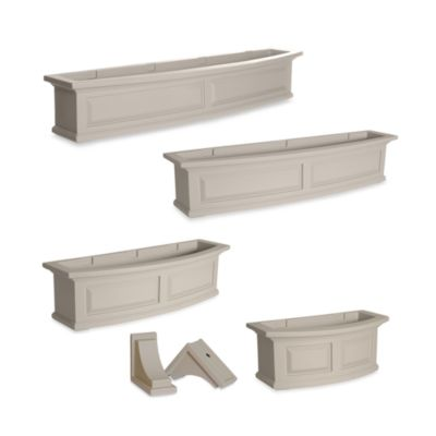 Mayne Nantucket 4-Foot Window Box in Clay
