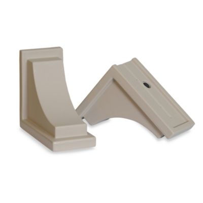 Mayne Nantucket Window Box Decorative Supports in Clay (Set of 2)