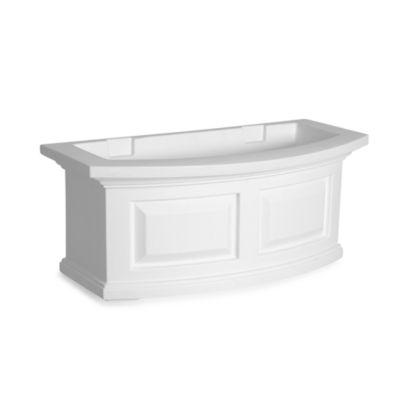 Mayne Nantucket 2-Foot Window Box in White