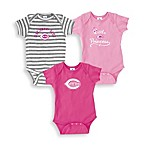 MLB Cincinnati Reds Pink Bodysuits (Set of 3) - 24 Months