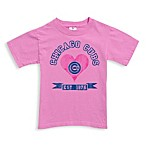 MLB Chicago Cubs Pink Established Tee Shirt