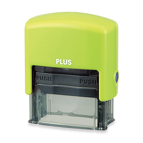 Guard Your ID Stamp in Green