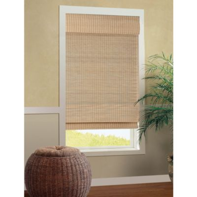 B. Smith Cali Natural Roman Cordless Bamboo Shade