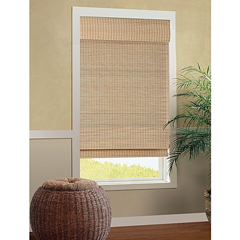 B. Smith Cali Roman Cordless Bamboo Shade in Natural