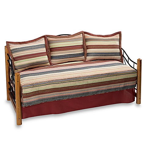 Perry Stripe 100% Cotton Daybed Set
