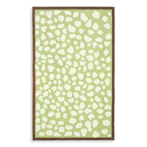Safavieh Kids® Abstract Print 3-Foot x 5-Foot Rug in Giraffe