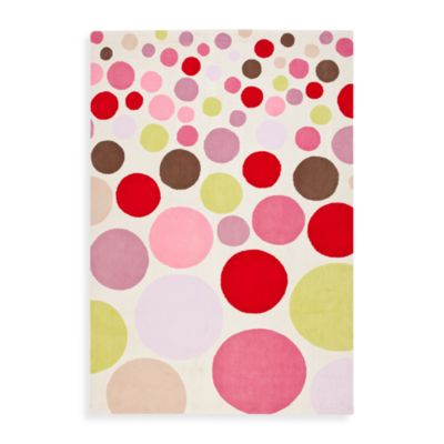 Safavieh Kids® Polka Dot Print 3-Foot x 5-Foot Rug