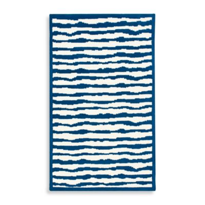 Safavieh Kids® Wave Stripe 4-Foot x 6-Foot Rug