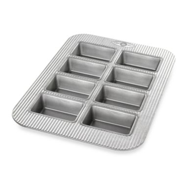 USA Pan Non-Stick Mini Loaf 8-Well Pan