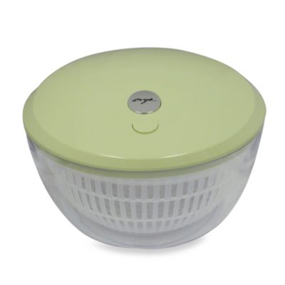 One-Touch Battery Operated Salad Spinner