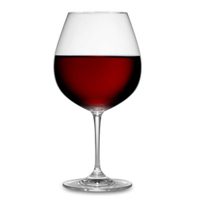 Burgundy Wine Glass Shape