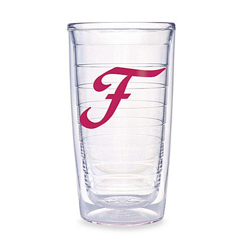 Tervis® Pink Monogram 16-Ounce Tumbler in Letter