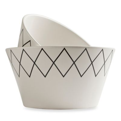 K by Keaton White Bowls (Set of 2)