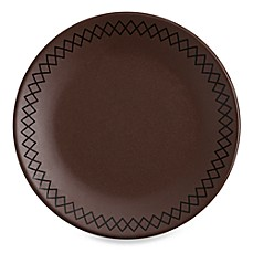 K by Keaton Bark 8 1/2-Inch Accent/Salad Plates (Set of 4)