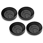 Tervis® Travel Lids in Black (Set of 4)