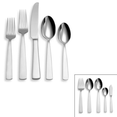 Reed & Barton® Elan 45-Piece Stainless Steel Flatware Set