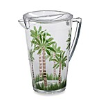 Palm Acrylic 3.2-Quart Pitcher