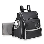 Jeep® Black Backpack Diaper Bag