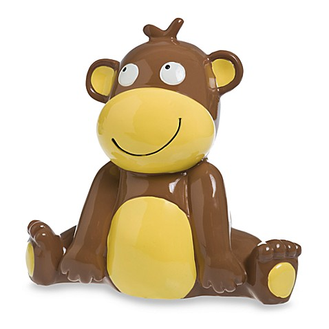 AD Sutton Baby Essentials Resin Monkey Bank