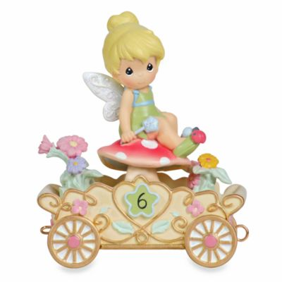 Precious Moments® Disney® Birthday Figurine: Tinkerbell in 6th Birthday