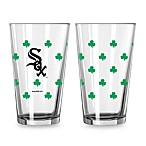 Chicago White Sox Shamrock Pint Glasses (Set of 2)