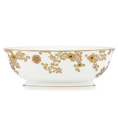 L by Lenox® Floral Majesty 9.5-Inch Vegetable Bowl