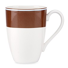 kate spade new york Market Street 14-Ounce Chocolate Mug
