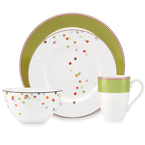 Kate spade new york market street dinnerware collection for Bed bath and beyond kate spade
