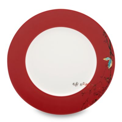 Red China Plates