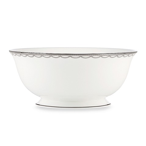 Lenox® Iced Pirouette Serving Bowl
