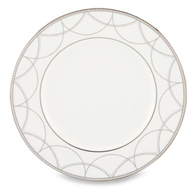 Lenox® Iced Pirouette 9-Inch Accent Plate