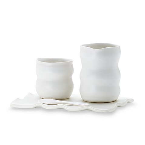 Donna Karan Lenox® Porcelain Touch™ Sugar and Creamer Set