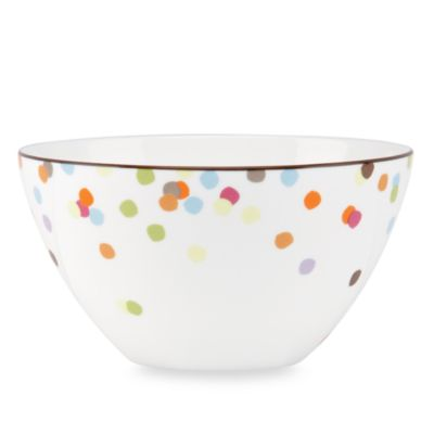 "kate spade new york Market Street 5"" Soup/Cereal Bowl"