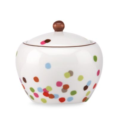 kate spade new york Market Street Sugar Bowl