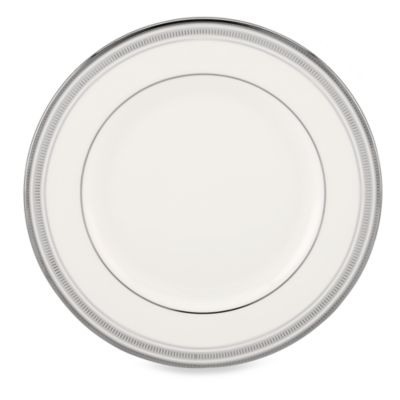 kate spade new york Palmetto Bay Platinum 10.75-Inch Dinner Plate