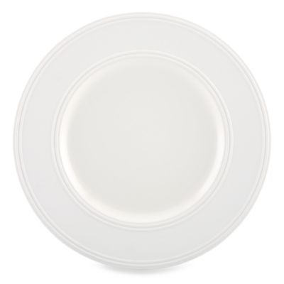 kate spade new york Fair Harbor White Truffle 11-Inch Dinner Plate
